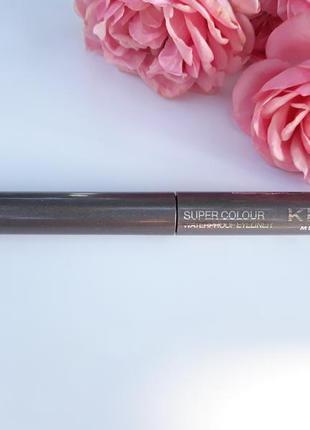 Подводка для глаз kiko milano super colour waterproof eyeliner