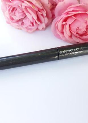 Подводка для глаз от kiko milano super colour waterproof eyeliner