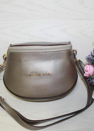 Новая бронзовая сумочка через плечо