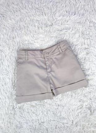Шорты классические шорты нюдовые шорты хлопковые