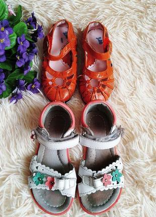 Набор летней обуви - босоножки и туфельки (15,5 см)