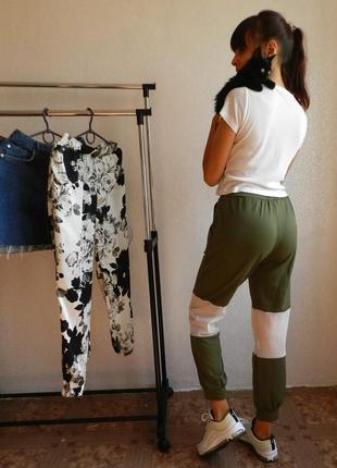 Распродажа!!!!!!!!!!!!!!!!!!!!!!!!!!!!!!!!!!!!  бомбические штанишки со вставками из сеток3 фото