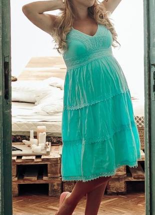 Летнее платье для беременной