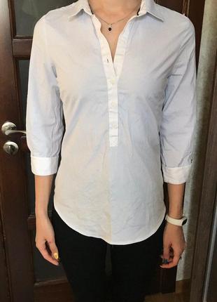 Рубашка классическая zara, xs
