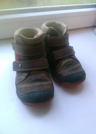 Фирменные ботинки 21-22 р