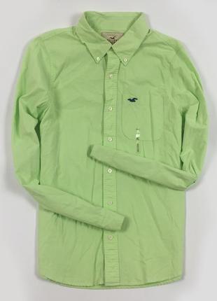 Рубашка hollister мужская салатовая холистер размер xl