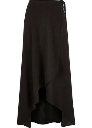 Макси юбка имитация запаха размер 14-16-18