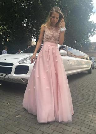 Дизайнерское платье ручной работы👗