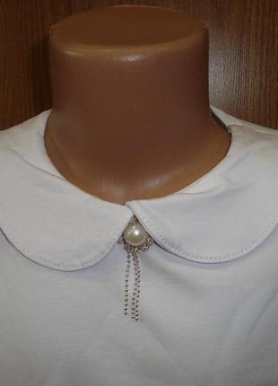 Реглан блузка для девочки