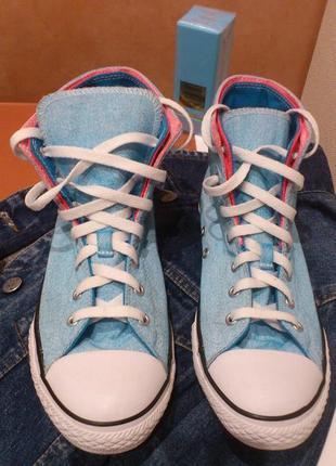 Кеды женские converse chuck taylor® all-star® two fold hi #637347c