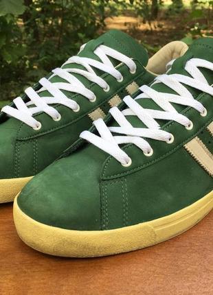 Кеды adidas gazzelle green star зеленые,легкие р.47 original