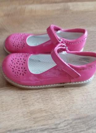 George розовые лаковые туфли р 31