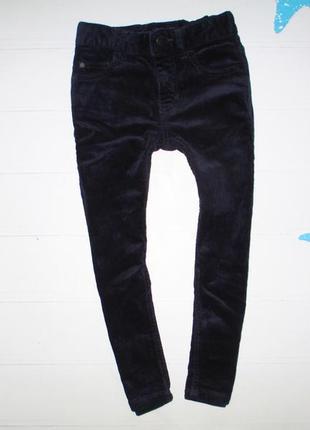 Вельветовые штаны next на 4г