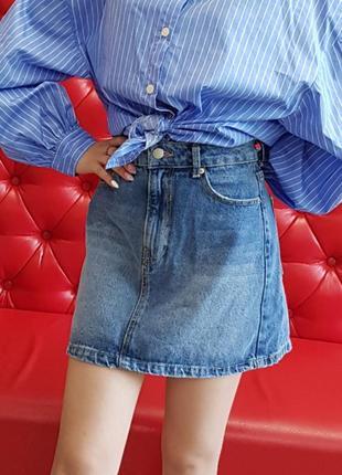 Юбка джинсова,