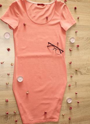 Платье футболка миди edc