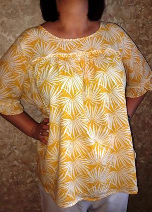Трендовая блуза marks spencer 24 рр