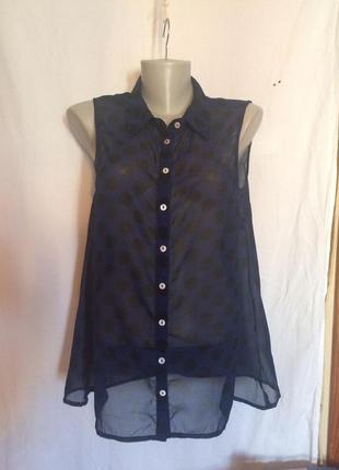 Блузка,рубашка без рукавов,туника,шифон от бренда only,1+1+1=4 на весь товар