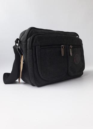 Мужская брезентовая сумка