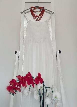 Белоснежное платье италия лето 2019