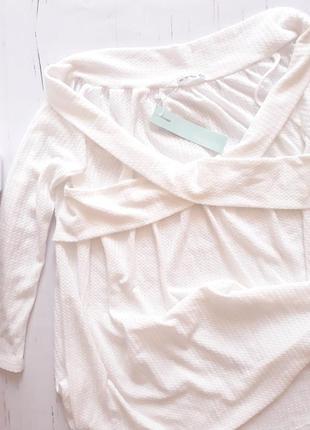 Блузка вязаная uk18