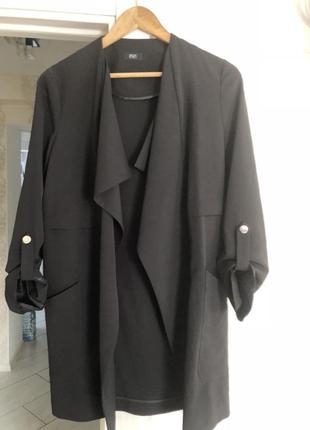 Стильный длинный пиджак f&f