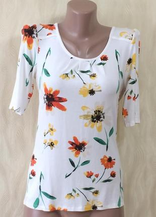 Приятная блуза футболка в цветах next , р.10_