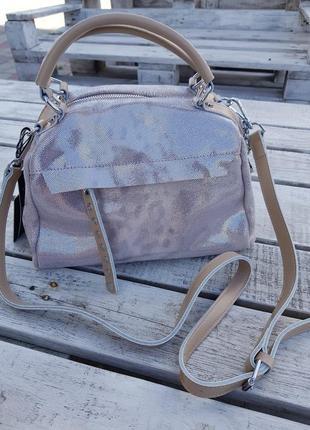 Кожаная женская сумка 👜