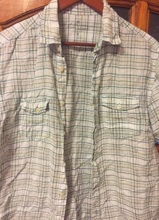 Marks&spencer  льняная рубашка!