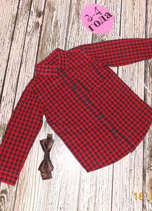 Фирменная рубашка rebel для мальчика 3-4 года. 98-104 см