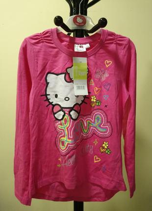 Розовая кофточка/реглан hello kitty