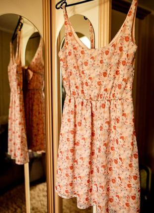 Сарафан персикового цвета pull&bear