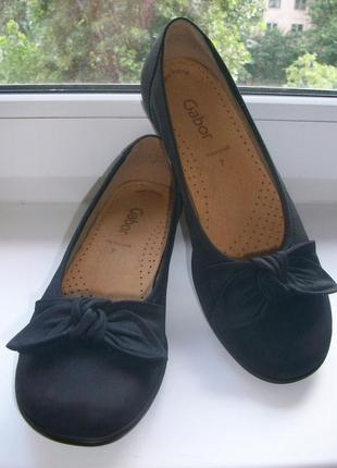 Туфли женские натуральная кожа gabor р.40