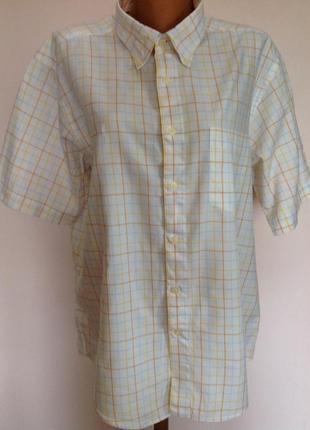 Фирменная мужская рубашка. /xl/ brend pierre cardin