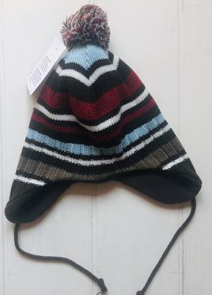 Детская шапка осень-зима 45 см