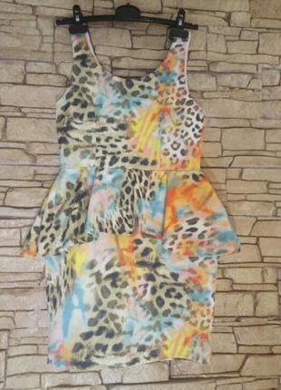Акция!цена временно снижена!платье с баской