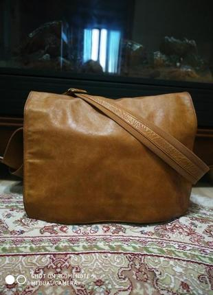 Роскошная большая мужская сумка hugo boss