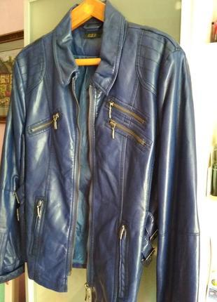 Куртка ( экокожа) раз (l- m)