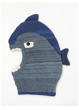 Шлем балаклава акула на мальчикаjohn lewis