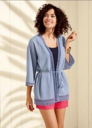 Накидка пиджак блуза от немецкого бренда. оригинал!