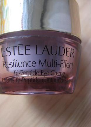 Пептидный крем вокруг глаз estee lauder resilience tri-peptide multi-effect миниатюра 5 мл