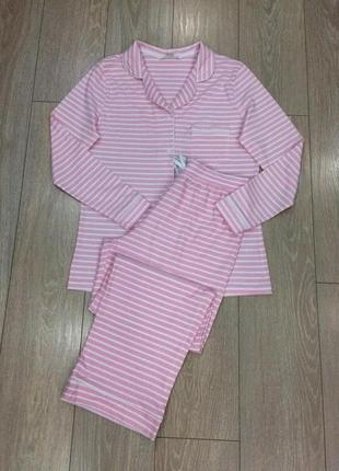 Костюм домашний спальный пижама в полоску  tu
