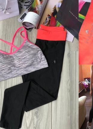 Крутой костюм для тренировок adidas лосины xs