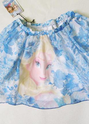 Яркая пышная юбка с эльзой