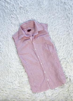 Рубашка летняя рубашка безрукавка рубашка полосатая