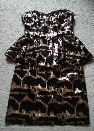 Вечернее мини платье