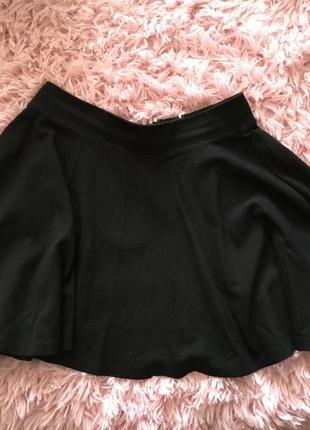 Чёрная мини юбочка