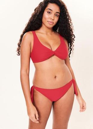 Красный  купальник  abercrombie & fitch