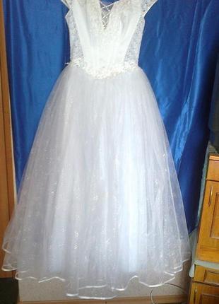Свадебное платье рост 175 размер 44