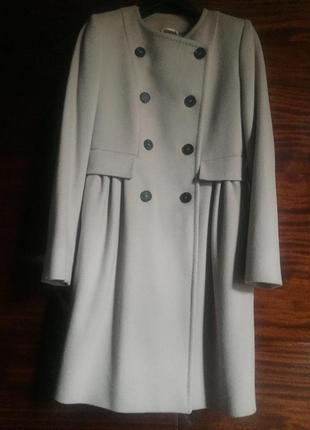 Пальто шерсть vergine max mara