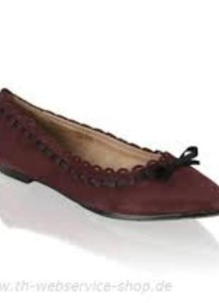 Замшевые туфли лодочки от lazzarini  италия